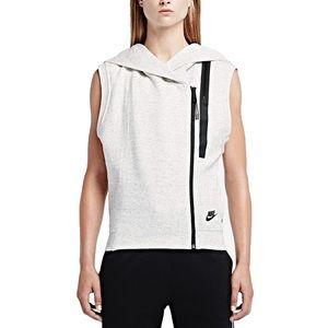 NIKE- Tech Fleece Hooded Sport Casual Vest